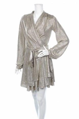 Šaty  PatBo, Rozměr M, Barva Zlatistá, 95% polyester, 5% elastan, Cena  2040,00Kč