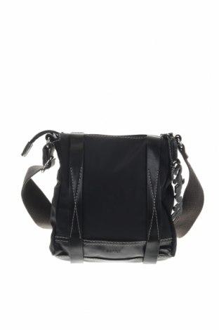 Чанта Esprit, Цвят Черен, Текстил, еко кожа, Цена 25,20лв.