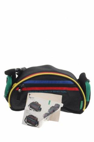 Чанта United Colors Of Benetton, Цвят Черен, Текстил, Цена 39,69лв.