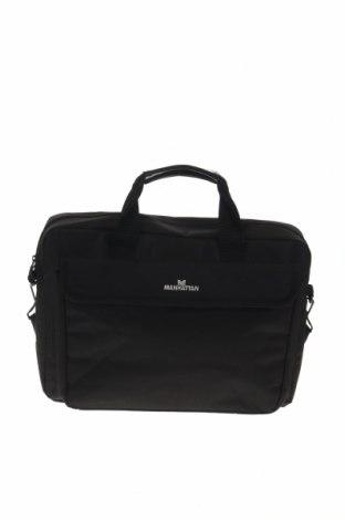 Чанта за лаптоп, Цвят Черен, Текстил, Цена 28,93лв.