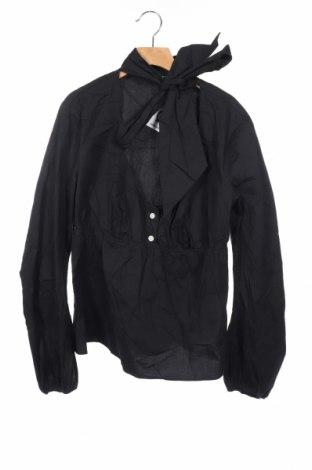 Παιδική μπλούζα United Colors Of Benetton, Μέγεθος 14-15y/ 168-170 εκ., Χρώμα Μαύρο, 97% βαμβάκι, 3% ελαστάνη, Τιμή 5,85€