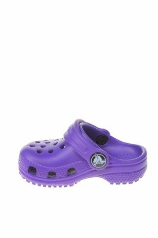Γυναικείες παντόφλες Crocs, Μέγεθος 19, Χρώμα Βιολετί, Πολυουρεθάνης, Τιμή 16,73€