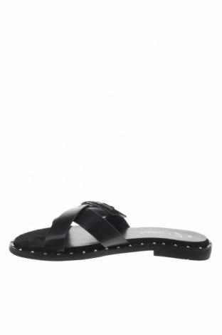 Γυναικείες παντόφλες Nicewalk, Μέγεθος 40, Χρώμα Μαύρο, Δερματίνη, Τιμή 10,76€