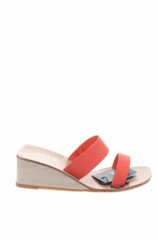 Papuci Rubi, Mărime 36, Culoare Portocaliu, Piele ecologică, Preț 90,52 Lei