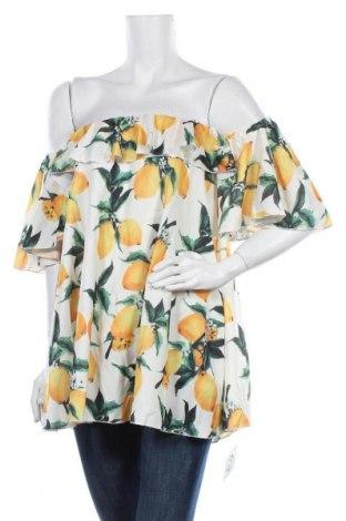 Дамска блуза, Размер L, Цвят Многоцветен, Цена 14,28лв.