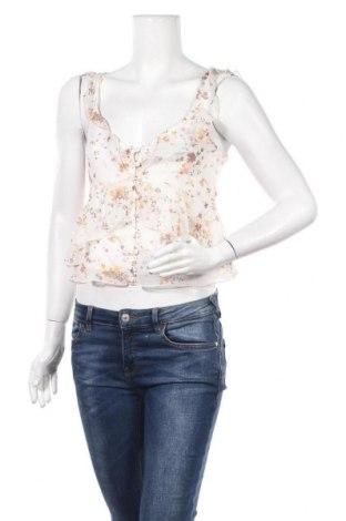 Дамска блуза Abercrombie & Fitch, Размер S, Цвят Бял, Полиестер, Цена 9,19лв.