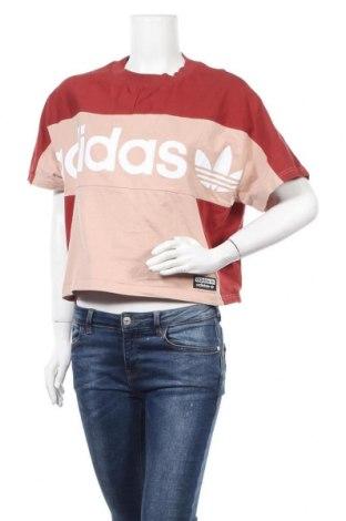 Дамска блуза Adidas Originals, Размер S, Цвят Многоцветен, 95% памук, 5% еластан, Цена 35,70лв.