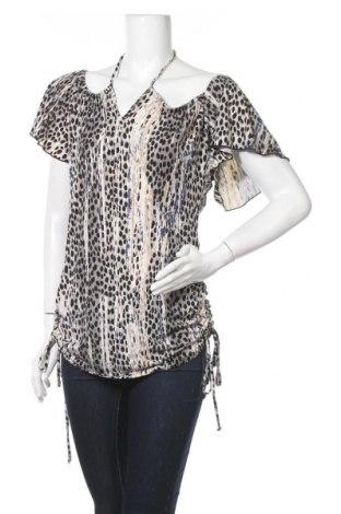 Дамска блуза Allen B., Размер M, Цвят Многоцветен, 96% полиестер, 4% еластан, Цена 6,62лв.