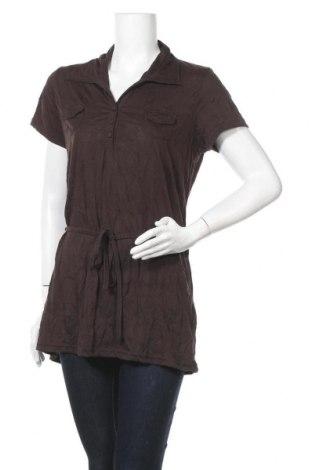 Дамска блуза Boule..., Размер XXL, Цвят Кафяв, 70% полиестер, 30% памук, Цена 8,09лв.