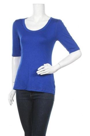 Дамска блуза Cable & Gauge, Размер M, Цвят Син, 95% вискоза, 5% еластан, Цена 11,81лв.