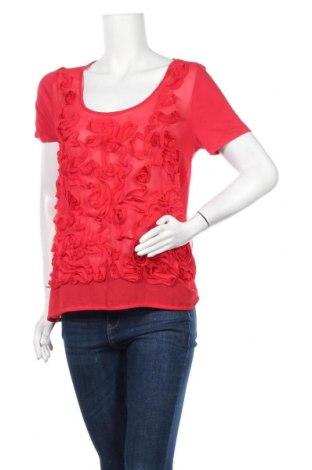 Дамска блуза Carla F., Размер L, Цвят Червен, Вискоза, Цена 15,12лв.