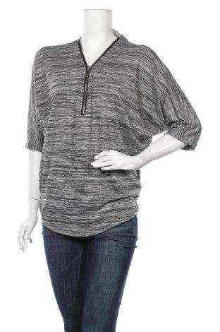 Дамска блуза Cha Cha, Размер S, Цвят Сив, 97% полиестер, 3% еластан, Цена 8,93лв.