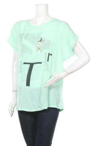 Дамска блуза Cha Cha, Размер XL, Цвят Зелен, Полиестер, Цена 11,39лв.