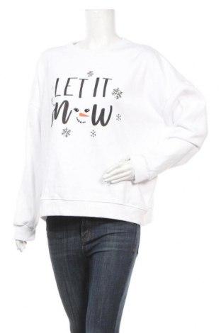 Γυναικεία μπλούζα Dorothy Perkins, Μέγεθος XL, Χρώμα Λευκό, 50% πολυεστέρας, 50% βαμβάκι, Τιμή 15,41€