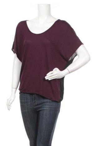 Дамска блуза Express, Размер S, Цвят Лилав, Вискоза, полиестер, Цена 5,21лв.