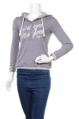 Дамска блуза Flash Lights, Размер XXS, Цвят Сив, Памук, Цена 9,56лв.