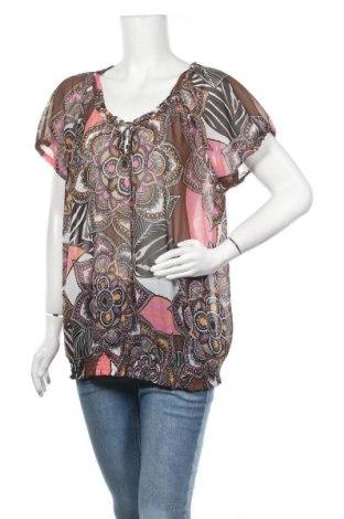 Γυναικεία μπλούζα G.W., Μέγεθος XL, Χρώμα Πολύχρωμο, Τιμή 7,02€