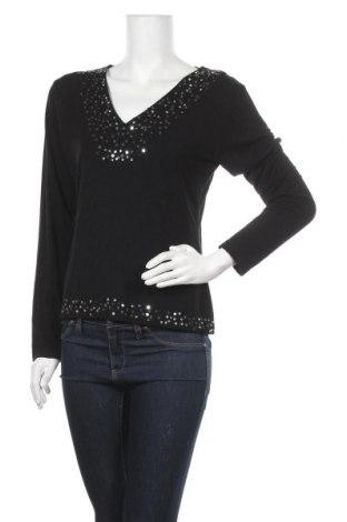 Γυναικεία μπλούζα Georges Rech, Μέγεθος L, Χρώμα Μαύρο, 90% μοντάλ, 10% ελαστάνη, Τιμή 8,87€