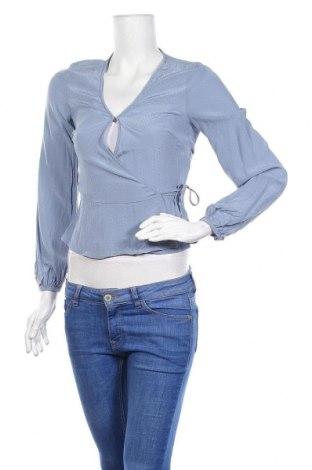 Γυναικεία μπλούζα H&M, Μέγεθος XS, Χρώμα Μπλέ, Βισκόζη, Τιμή 3,54€