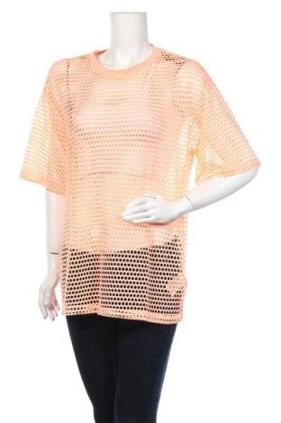 Γυναικεία μπλούζα H&M Divided, Μέγεθος S, Χρώμα Ρόζ , 93% πολυεστέρας, 7% ελαστάνη, Τιμή 2,92€