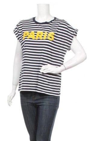 Дамска блуза H&M L.O.G.G., Размер L, Цвят Син, Памук, Цена 11,76лв.
