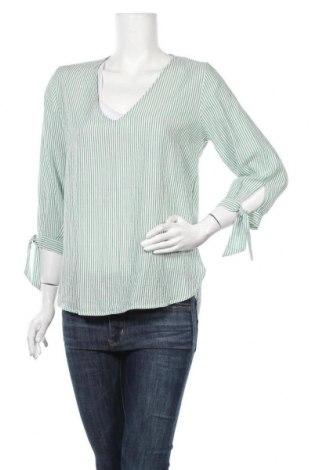 Дамска блуза H&M L.O.G.G., Размер S, Цвят Зелен, 46% лиосел, 35% полиестер, 19% вискоза, Цена 7,73лв.