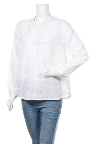 Γυναικεία μπλούζα H&M L.O.G.G., Μέγεθος M, Χρώμα Λευκό, Λινό, Τιμή 9,25€