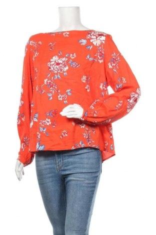 Дамска блуза H&M L.O.G.G., Размер L, Цвят Червен, Вискоза, Цена 14,18лв.