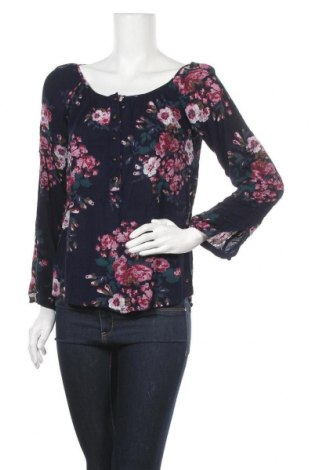 Дамска блуза H&M L.O.G.G., Размер XS, Цвят Син, Цена 7,56лв.