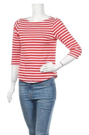 Дамска блуза H&M L.O.G.G., Размер S, Цвят Червен, Памук, Цена 11,34лв.