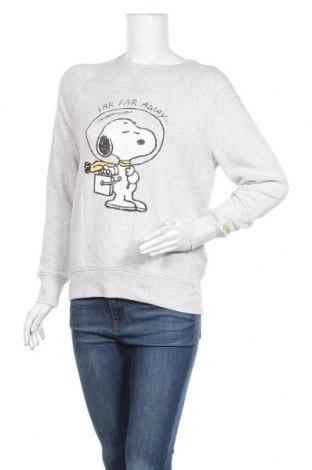 Дамска блуза H&M L.O.G.G., Размер XS, Цвят Сив, Памук, Цена 17,33лв.