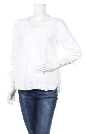 Дамска блуза H&M L.O.G.G., Размер M, Цвят Бял, Памук, Цена 19,95лв.