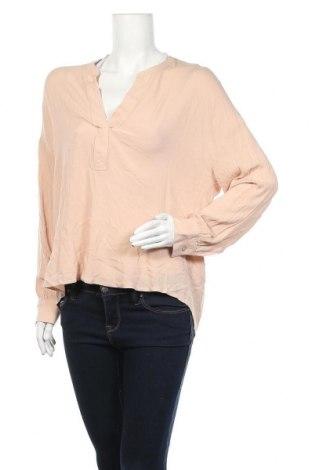Дамска блуза H&M L.O.G.G., Размер XS, Цвят Розов, Вискоза, Цена 33,60лв.