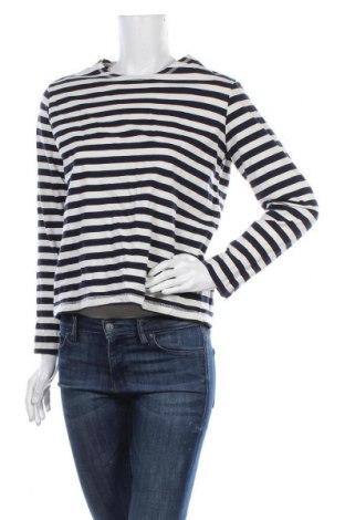 Дамска блуза H&M L.O.G.G., Размер M, Цвят Син, Памук, Цена 4,99лв.