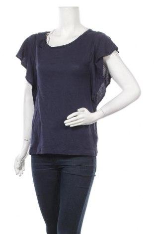 Дамска блуза H&M L.O.G.G., Размер S, Цвят Син, Памук, Цена 8,40лв.