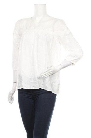Γυναικεία μπλούζα Hallhuber, Μέγεθος M, Χρώμα Λευκό, Βισκόζη, βαμβάκι, πολυαμίδη, Τιμή 20,98€