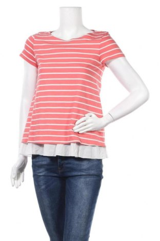 Дамска блуза Hallhuber, Размер S, Цвят Оранжев, Памук, Цена 27,72лв.