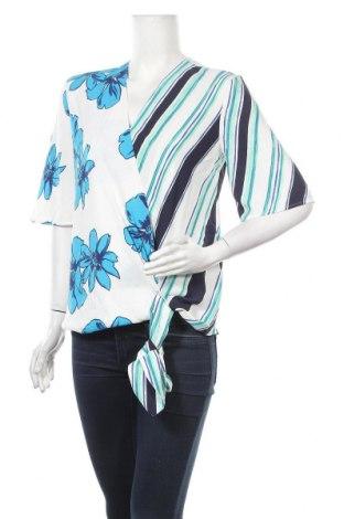 Дамска блуза Halogen, Размер M, Цвят Многоцветен, Полиестер, Цена 9,82лв.