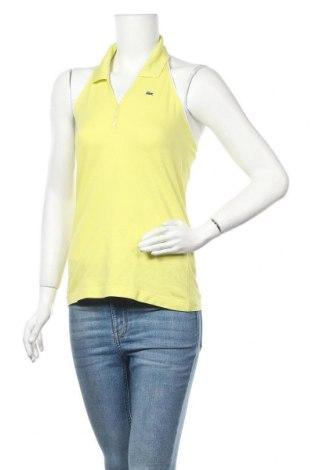 Γυναικεία μπλούζα Lacoste, Μέγεθος M, Χρώμα Πράσινο, 94% βαμβάκι, 6% ελαστάνη, Τιμή 15,46€