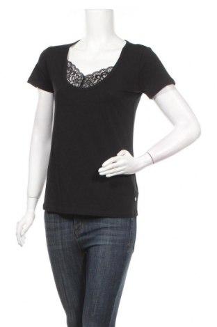 Γυναικεία μπλούζα Lascana, Μέγεθος XS, Χρώμα Μαύρο, 50% βαμβάκι, 45% βισκόζη, 5% ελαστάνη, Τιμή 5,41€