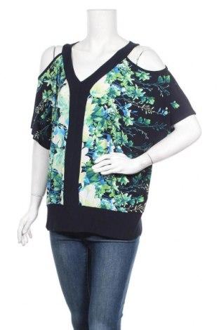 Дамска блуза Laura, Размер XL, Цвят Многоцветен, 95% полиестер, 5% еластан, Цена 8,40лв.