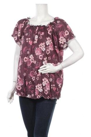 Γυναικεία μπλούζα Laura Torelli, Μέγεθος XL, Χρώμα Πολύχρωμο, Πολυεστέρας, Τιμή 8,77€