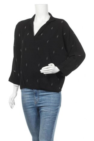 Γυναικεία μπλούζα Le Temps Des Cerises, Μέγεθος S, Χρώμα Μαύρο, 95% πολυεστέρας, 5% ελαστάνη, Τιμή 15,21€