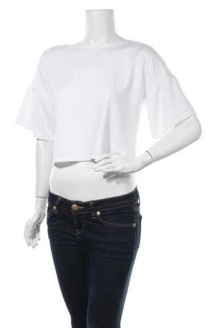 Дамска блуза Mohito, Размер S, Цвят Бял, 62% вискоза, 32% полиестер, 6% еластан, Цена 11,52лв.