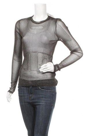 Γυναικεία μπλούζα Mtwtfss Weekday, Μέγεθος S, Χρώμα Μαύρο, 90% πολυαμίδη, 10% μεταλλικά νήματα, Τιμή 4,09€