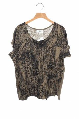 Γυναικεία μπλούζα Noa Noa, Μέγεθος XS, Χρώμα Πράσινο, Λινό, Τιμή 7,73€
