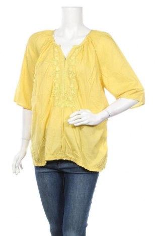 Γυναικεία μπλούζα Noa Noa, Μέγεθος L, Χρώμα Πράσινο, Βαμβάκι, Τιμή 10,52€