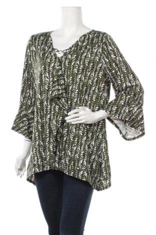Γυναικεία μπλούζα Ny Collection, Μέγεθος XL, Χρώμα Πολύχρωμο, 97% πολυεστέρας, 3% ελαστάνη, Τιμή 4,32€