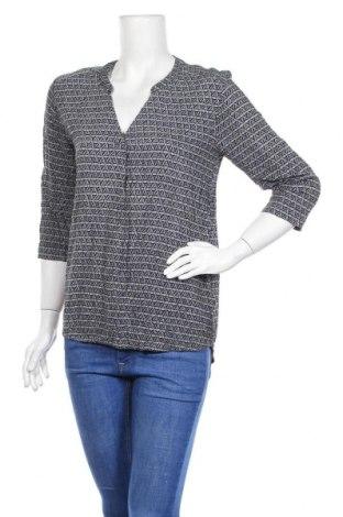 Дамска блуза Luxzuz One Two, Размер M, Цвят Син, Вискоза, Цена 18,74лв.