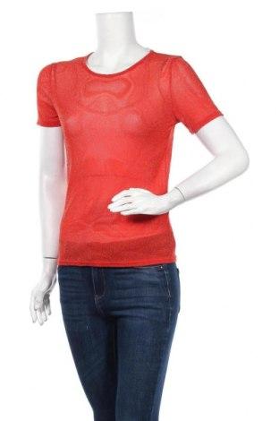 Дамска блуза Project Unknown, Размер S, Цвят Червен, Полиестер, Цена 5,46лв.